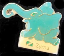 ELEPHANT BLEU - ELEFANT - ZYMA -                                     (ROSE) - Animals