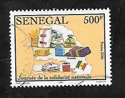 TIMBRE OBLITERE DU SENEGAL DE 2007 N° MICHEL 2123 - Senegal (1960-...)