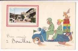 France 12 - Bouillac - Bien Arrivés à Bouillac:  Achat Immédiat - France