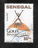 TIMBRE OBLITERE DU SENEGAL DE 2007 N° MICHEL 2124 - Senegal (1960-...)