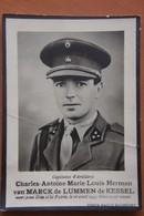 Mortuaire Capitaine Artillerie Charles Van Marck De Lumen De Kessel Tué Obus Hinrichshagen 1945 6ème Rgt Artilerie - Obituary Notices