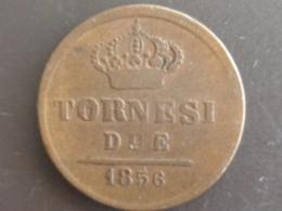 ITALIE : TRES BELLE DUE TORNESI 1856 - Monedas Regionales