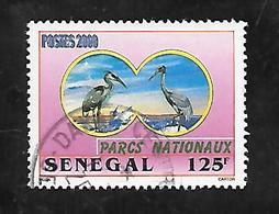TIMBRE OBLITERE DU SENEGAL DE 2001 N° MICHEL 1947 - Senegal (1960-...)