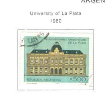 Argentina PO 1980 Università La Plata Scott.1278+ See Scan On Scott.Page - Usati