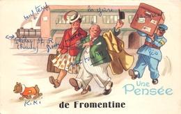 ¤¤   -  LA BARRE-de-MONT - FROMENTINE - Une Pensée De ...........  -  Illustrateur  -  ¤¤ - France