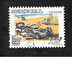 TIMBRE OBLITERE DU SENEGAL DE 1999 N° MICHEL 1596 - Senegal (1960-...)