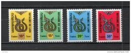 LAOS TAXE N° 9 à 11   NEUFS SANS CHARNIERE COTE 2.10€  DRAGON  ANIMAUX - Laos