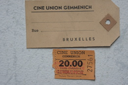 Tickets Cinema UNION GEMMENICH - Tickets - Vouchers