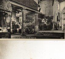 CISJORDANIE  BETHLEHEMINTERIEUR DE   L EGLISE DE LA NATIVITE - Cartes Postales