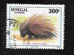 TIMBRE OBLITERE DU SENEGAL DE 1995 N° MICHEL 1393 - Senegal (1960-...)