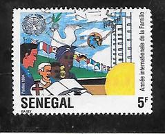 TIMBRE OBLITERE DU SENEGAL DE 1994 N° MICHEL 1328 - Senegal (1960-...)