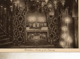 CISJORDANIE  BETHLEHEM GROTTE DE LA NATIVITE - Cartes Postales