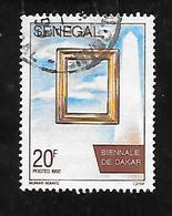 TIMBRE OBLITERE DU SENEGAL DE 1992 N° MICHEL 1245 - Senegal (1960-...)