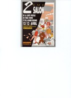 CARTE 2 EME SALON VENISSIEUX 1986 - SIGNEE DIRAT - NEMO - Collector Fairs & Bourses
