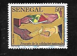 TIMBRE OBLITERE DU SENEGAL DE 2007 N° MICHEL 2120 - Senegal (1960-...)