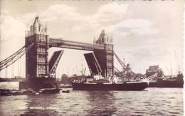 Gran Bretagna - Londra, Tower, Affrancata E Viaggiata 1958, Inviata In Italia - Tower Of London