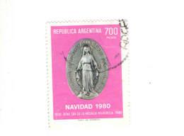 Argentina PO 1980 Natale  Scott.1289+ See Scan On Scott.Page - Usati