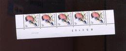 Belgie 2295 Buzin Vogels Birds 6Fr Bande Datée Datumstrook Paar 20/6/1988  RR - 1985-.. Birds (Buzin)