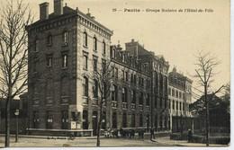 12219 - Seine St Denis -  PANTIN :  GROUPE SCOLAIRE DE L'HOTEL DE VILLE    Circulée En 1917 - Pantin
