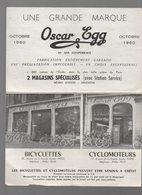 Paris : Publicité VELO MOTO OSCAR EGG 1960 (PPP8467) - Advertising