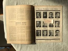COEURS BELGES Nº 23 DU 1º NOVEMBRE 1944 Suzanne Boscheron Fusillée Par Les Allemands à Burnontige, Le 1er Septembre 194 - Books, Magazines, Comics