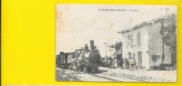 St VIVIEN Médoc Rare La Gare () Gironde (33) - Francia