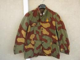Giacca Mimetica Chiazzata E.I. Modificata Fine Anni '70 Maggiore E.I. Originale Completa - Uniforms