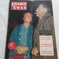 France Urss 1957 N°140 Jean Gabin Nicole Courcel Le Chanois - Politics