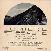 Lumière Et Beauté 1932 N°10 Haut-Rhin Hohneck,Turckheim,Colmar(Petite Venise Lauch),M.son Pfister,Kaysersberg TBE - Books, Magazines, Comics