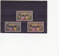 ETATS UNIS 3 TIMBRES NEUFS DE POSTE AERIENNE - Air Mail