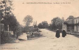¤¤   -   SAINT-HILAIRE-la-PALLUD   -  Les Marais  -  Le Pont De Pairé   -  ¤¤ - France