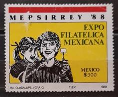 "MÉXICO 1988 ""Mepsirrey '88"" Stamp Exhibition, Monterrey. USADO - USED. - Mexique"