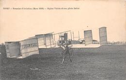 ¤¤   -   NIORT  -  Semaine D'Aviation (Mars 1910)  -  Biplan Voisin Et Son Pilote BELLOT   -  ¤¤ - Niort