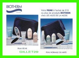 ADVERTISING - PUBLICITÉ - BIOTHERM CHEZ LES AILES DE LA MODE EN 1998 - - Publicité