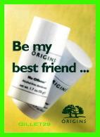 ADVERTISING - PUBLICITÉ - DÉODORANT OROGINS - BE MY BEST FRIEND - GO-CARD No 3680 IN 1997 - - Publicité