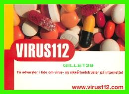ADVERTISING - PUBLICITÉ - VIRUS 112 - HELSE - EURO TRUST - - Publicité