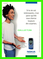 ADVERTISING - PUBLICITÉ - NOKIA, CONNECTING PEOPLE - - Publicité