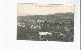 GIROMAGNY 8 VUE GENERALE AVEC LE FORT - Giromagny