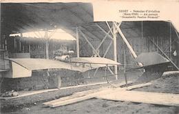 "¤¤   -   NIORT  -  Semaine D'Aviation (Mars 1910)  -  Au Garage "" Demoiselle Santos Dumont "" -  Avion  -  ¤¤ - Niort"