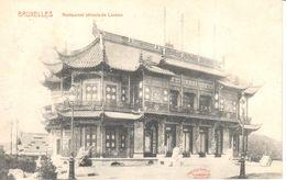 Bruxelles - CPA - Brussel - Laeken - Restaurant Chinois - Laeken