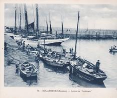 29 DOUARNENEZ, Arrivée Des Sardiniers, Belle Animation, 24x18 - Schiffe