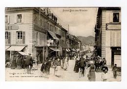 Saint-Dié-des-Vosges, Entrée De La Rue Thiers, 1905, Imp. Ad. Weick N° 4407 -CI. M, Café Du Globe - Saint Die