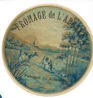 1ere SUR DELCAMPE CAMEMBERT DE L'ABBAYE LAITERIE COOPERATIVE DE SIGNY L'ABBAYE TRES RARE BON ETAT - Cheese
