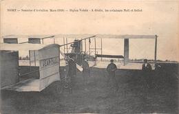 ¤¤   -   NIORT  -  Semaine D'Aviation (Mars 1910)  -  Biplan Voisin  - Les Aviateurs Noëlet Bellot  -  Avion  -  ¤¤ - Niort