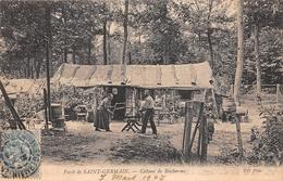 ¤¤   -   Forêt De SAINT-GERMAIN   -  Cabane De Bucheron  -  Travail Du Bois -  ¤¤ - St. Germain En Laye