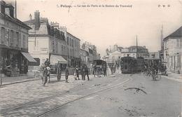 ¤¤  -  POISSY  -  La Rue De Paris Et La Station Du Tramway   -  ¤¤ - Poissy