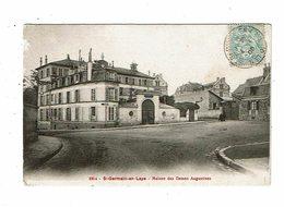 Cpa SAINT GERMAIN EN LAYE Maison Des Dames Augustines 2314 Rep Et Filliette - St. Germain En Laye