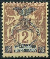Nouvelle Caledonie (1903) N 68 * (charniere) - Ungebraucht