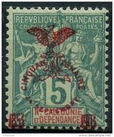 Nouvelle Caledonie (1903) N 70 * (charniere) - Unused Stamps