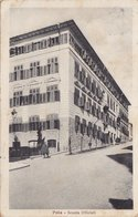 POLA /  Scuola Ufficiali _ Viaggiata 1924 - Croatia